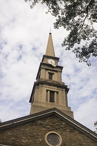St. Mark's Church in-the-Bowery - St Mark's Church in New York City, in memory