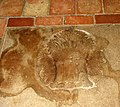 St Mary's church - ledger slab detail - geograph.org.uk - 1252121.jpg