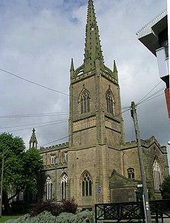 St Peters Church, Preston, Lancashire Church in Lancashire, England