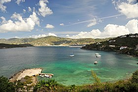 Pacquereau Bay, Saint-Thomas.