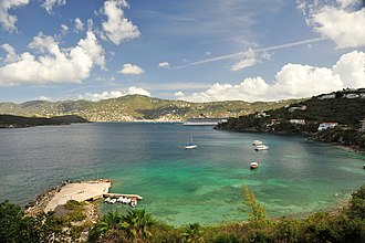 Wharf - Image: St Thomas Marriott Pacquereau Bay 1