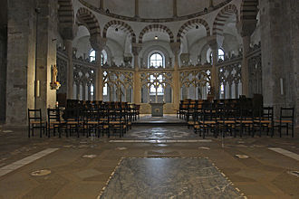 St. Maria im Kapitol - Interior view