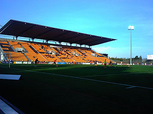 Das Stade Francis-Le Basser in Laval