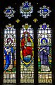Stained glass window, St Lawrence church, Hawkhurst (15102906917).jpg