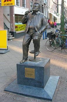 Standbeeld van André Hazes in de Pijp Amsterdam