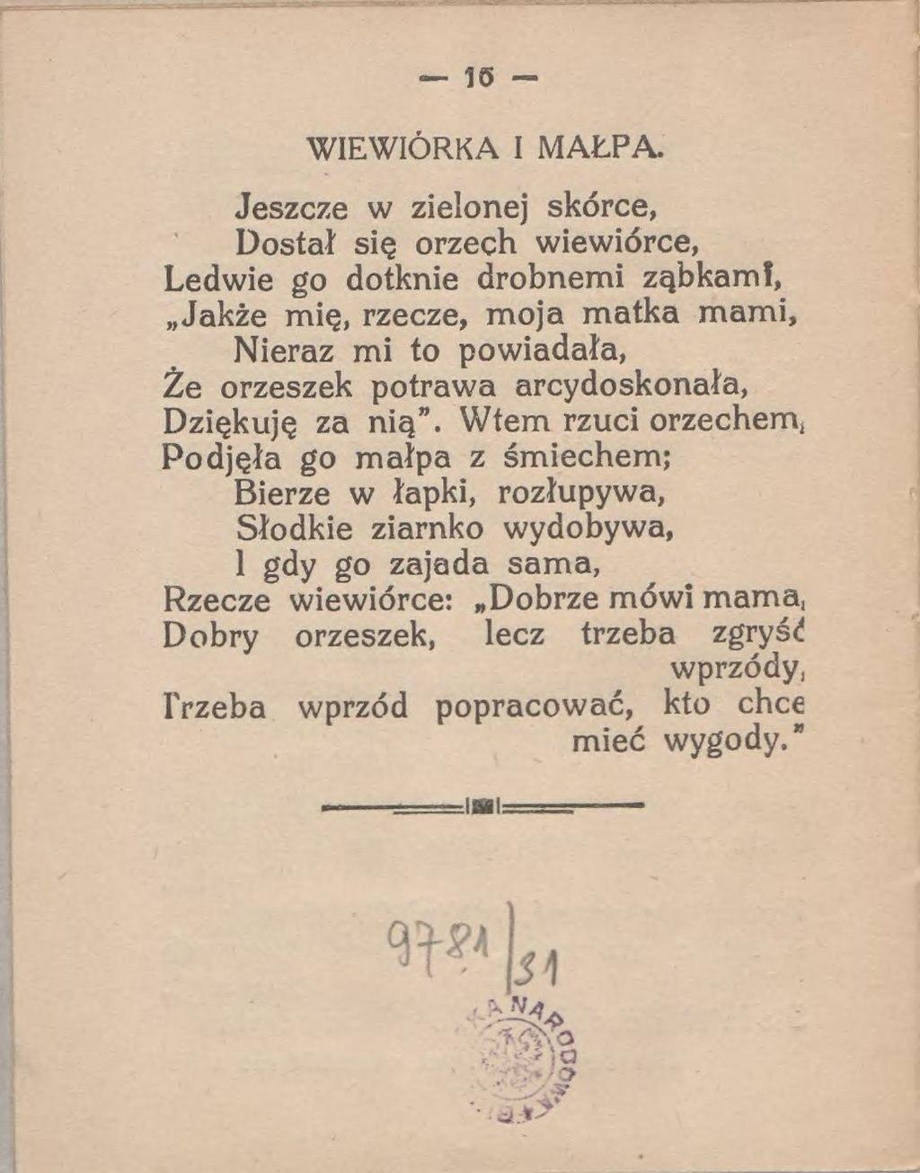 Stronastanisław Jachowicz Bajki Wierszowanedjvu18