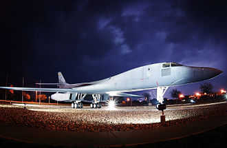 7th Bomb Wing - The B-1 commemorates its 20th anniversary at Dyess AFB