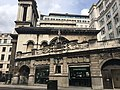 Starbucks by Bank Station, part of Hawksmoor's St Mary Woolnoth church.jpg