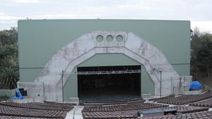 Starlight Bowl (San Diego) - The amphitheater in 2009