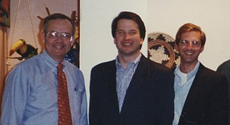 Alex Azar - Azar with Ken Starr and Brett Kavanaugh in the 1990s
