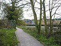 Start of footpath from Brent Road to Bridge Road - geograph.org.uk - 779029.jpg