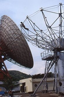 Antena parab lica wikipedia la enciclopedia libre for Antenas parabolicas en granada