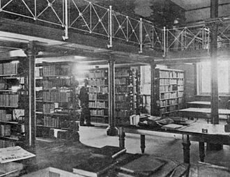 Old State Library Building, Brisbane - Reading room in 1902