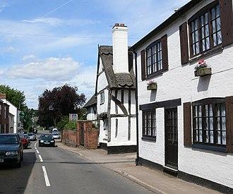 Littlethorpe, Leicestershire - Image: Station Road, Littlethorpe geograph.org.uk 509633