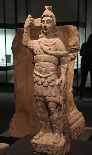 Bavarian State Archaeological Collection - Statue of the Mars of Eining