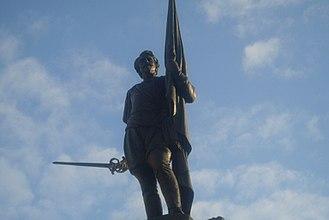 Antonio de Oquendo - Statue for Antonio de Oquendo, San Sebastián