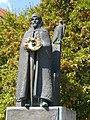 Statue of Bela I of Hungary by Márta Lesenyei, 2016 Szekszard.jpg