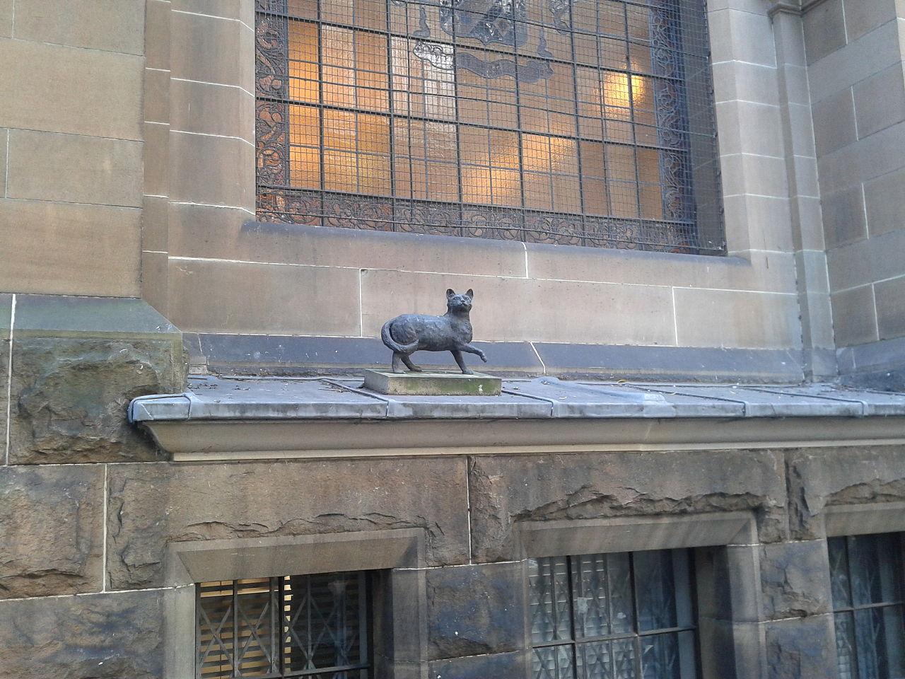 File Statue Of Trim The Cat Mitchell Library 21092017 Jpg