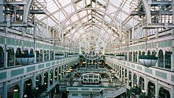 Famoso centro comercial de Stephen's Green, en Dublín