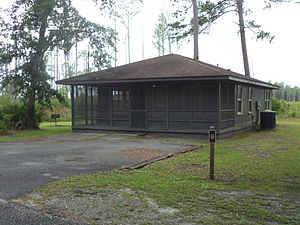 Stephen C. Foster State Park - One of nine cottages for rent