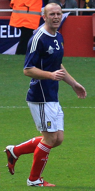 Stephen Crainey - Crainey playing for Scotland in 2011
