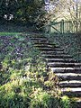 Steps leading to All Saints Church - geograph.org.uk - 319429.jpg