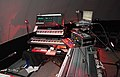 Steve Roach's amazing equipment after the Vortex Immersion Concerts, Los Angeles Center Studios, October 26, 2013 (2013-10-27 03.19.50 by Sam Howzit).jpg