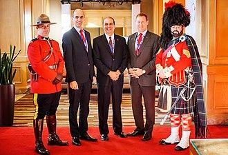 Steven Blaney - Steven Blaney at Halifax International Security Forum 2014
