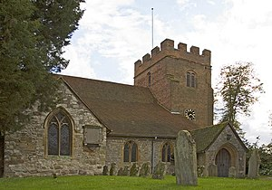 Godley Hundred - St Mary's Church, Thorpe which was built in the early 7th century within the Godley hundred