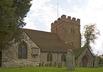 Thorpe, Surrey - Image: Stmary thorpe