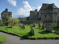 Stokesay Castle and gatehouse - geograph.org.uk - 1507337.jpg