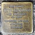 Stolperstein Blissestr 6 (Wilmd) Marta Reichmann.jpg