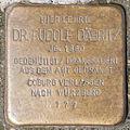 Stolperstein Dr Rudolf Daebritz by 2eight 3SC1362.jpg