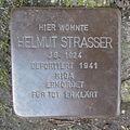 Stolperstein Herford Brüderstraße 3 Helmut Strasser.JPG