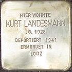 Stolperstein Siegen Landesmann Kurt.jpeg