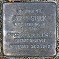 Stolperstein Zikadenweg 51 (Weste) Jenny Stock.jpg