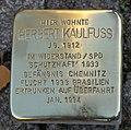 Stolperstein für Herbert Kaulfuss, Yorckstraße 70, Chemnitz (1).JPG