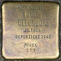 Stolpersteine Köln, Luise Ollendorf (Waisenhausgasse 66).jpg