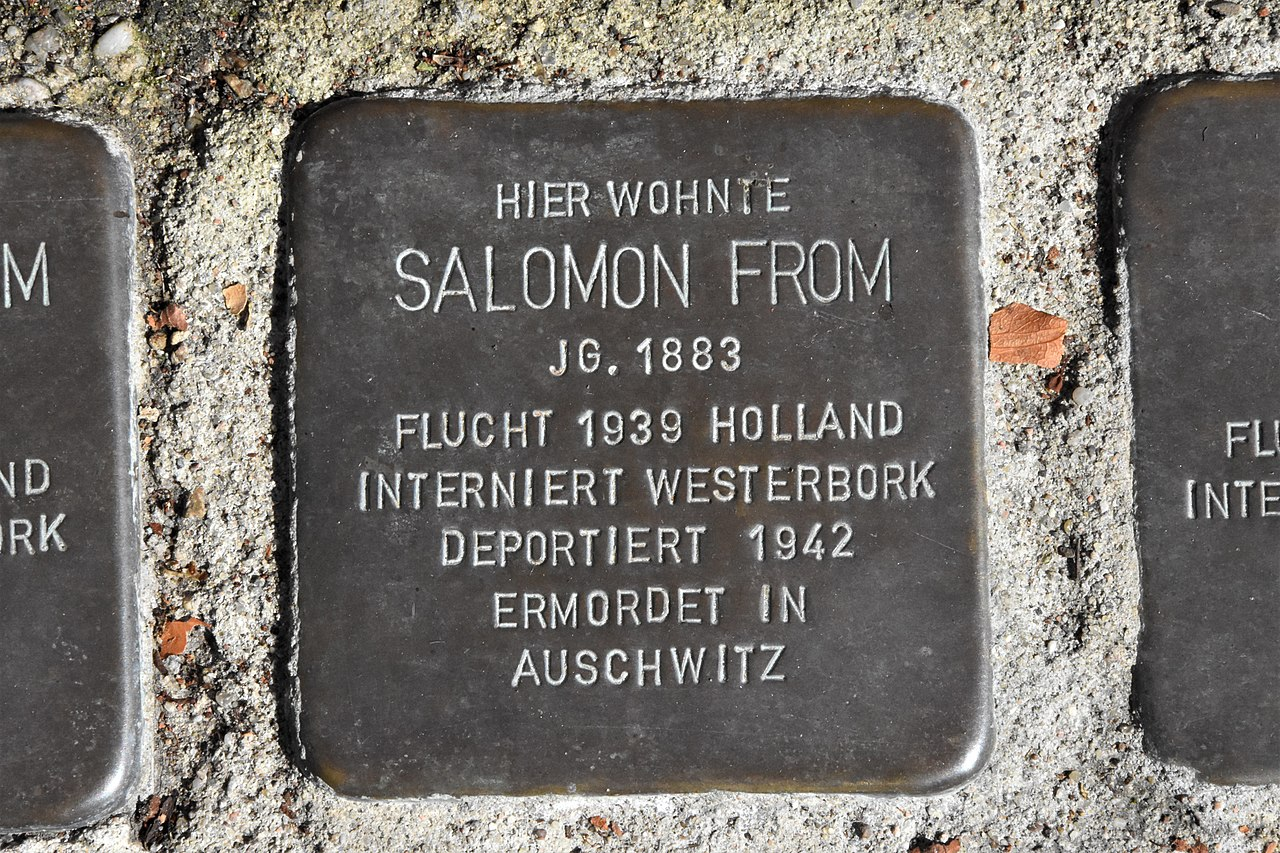 Stolperstein für Salomon From