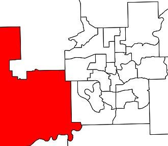 Stony Plain (electoral district) - Image: Stony Plain in Edmonton