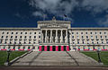 Stormont Parliament Buildings during Giro d'Italia, May 2014(1).jpg