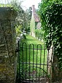 Stour Provost, Church Lane from the church - geograph.org.uk - 1434110.jpg