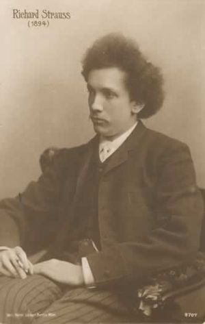 Hansel and Gretel (opera) - Strauss 1894, aged 30.
