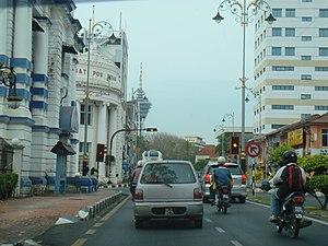 Street in Alor Setar