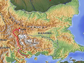 Struma (river) river in Bulgaria and Greece