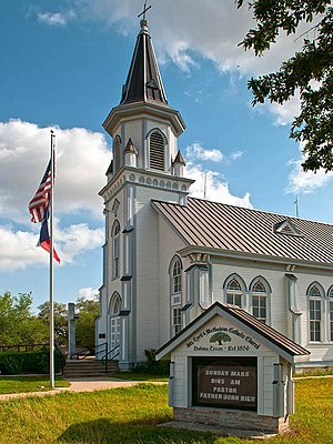 Dubina, Texas - Image: Sts Cyril & Methodius Catholic Church in Dubina, Texas
