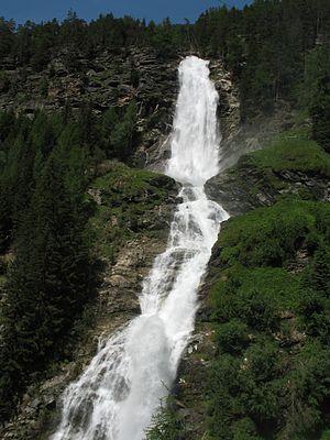 Umhausen - Stuiben - waterfall