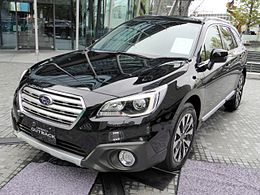 Subaru LEGACY OUTBACK Limited (BS9) front.JPG