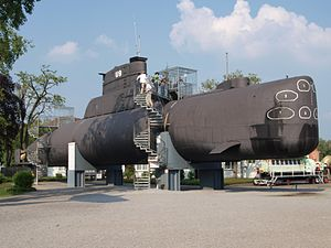Submarine U9 at Speyer museum p1.jpg