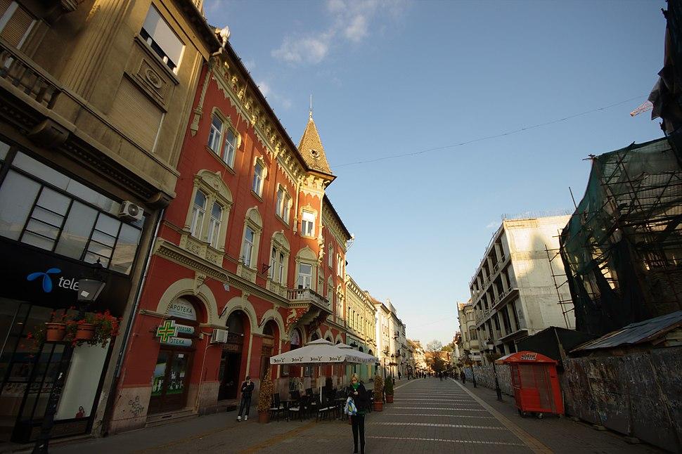 Subotica, podvečerní korzo II